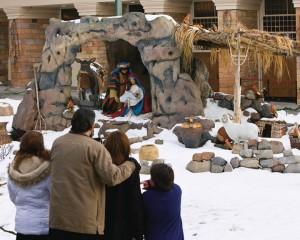 Mormon Jesus Christ nativity