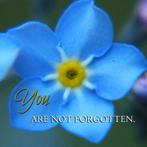 You Are Not Forgotten Mormon Quote
