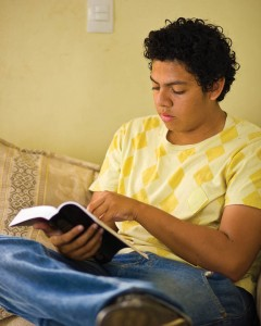 Mormon Studying Heavenly Father