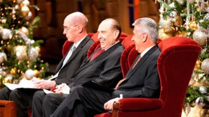 The First Presidency; President Henry B. Eyring, President Thomas S. Monson, and President Dieter F. Uchtdorf
