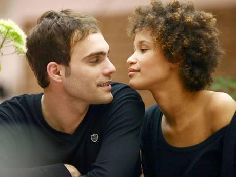 Mixed Race Coupl