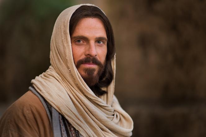 Jesus Christ peacefully looking