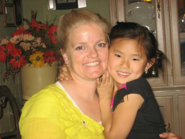 Jolynn Gray and daughter