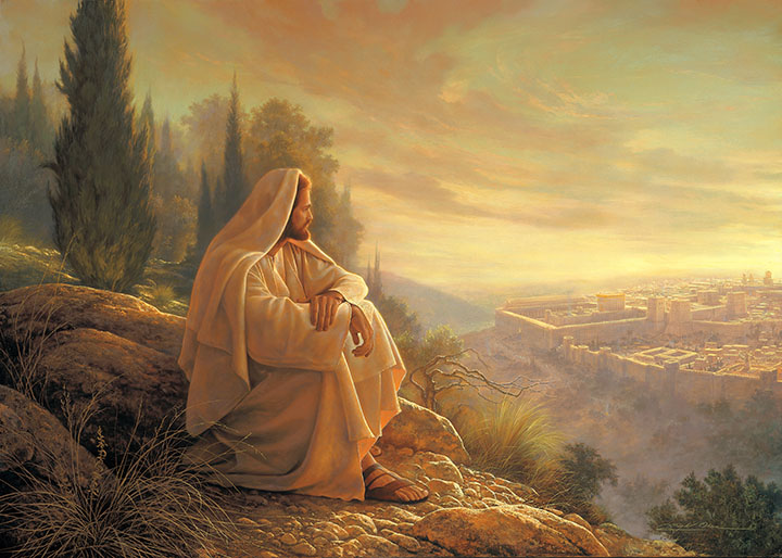 O Jerusalem by Greg Olsen