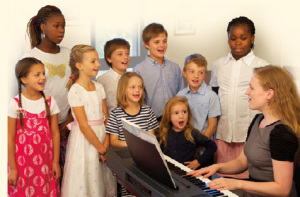 LDS children singing