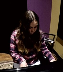 Faith Angelina – Playing Piano