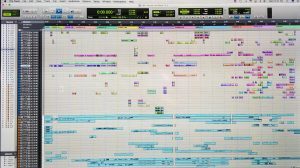 Audio Screen of Nourish the Word 33 Vocal, 21 Instrument Tracks